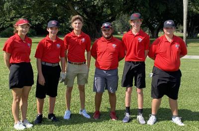 KW golf team at Shula's