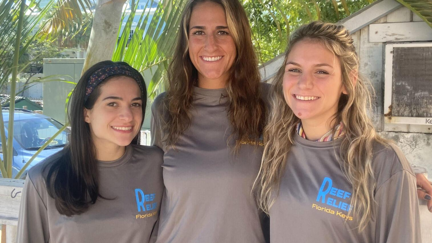 Spring interns join Reef Relief