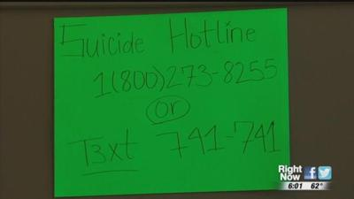 Spokane teen wants to bring more suicide and mental health awareness to school