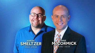 TV anchor, photojournalist killed when tree falls on vehicle