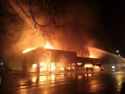 Mive Fire Destroys Colville Furniture
