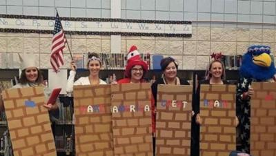 Middleton teachers who dressed as border wall head back to school following investigation