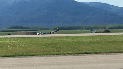 Small plane crash lands at Coeur d'Alene Airport; no injuries