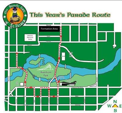 Full list of road closures for Spokane's St. Patrick's Day Parade