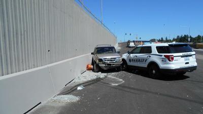 Pierce County Deputy, officer hospitalized when patrol car rammed