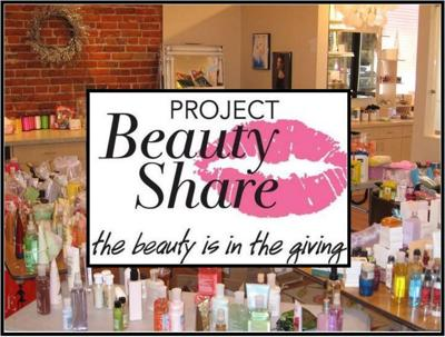 Project Beauty Share: Donate beauty and hygiene products to