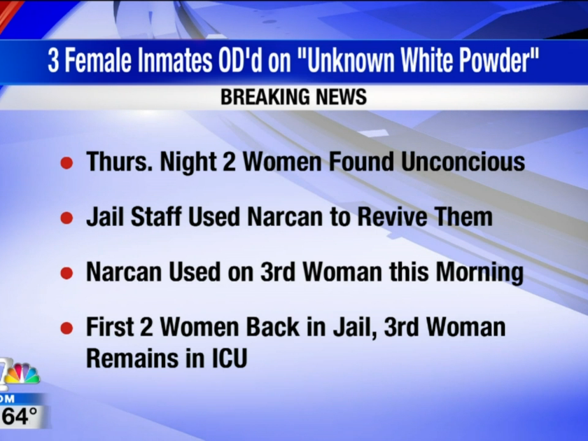 VIDEO: Drugs smuggled into the Spokane County Jail, three inmates