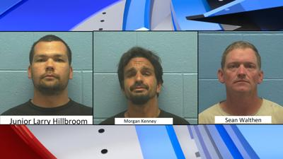 Three Hope, Idaho men arrested for conspiracy to distribute meth