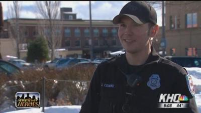 Pothole Patrol: Officer helps unlucky ladies fix blown out tires