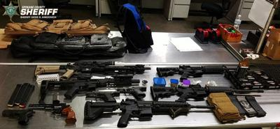 8-time convicted felon arrested; investigators seize stolen firearms, ammunition, drugs