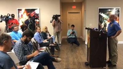 Union: 12 off-duty firefighters shot in Vegas