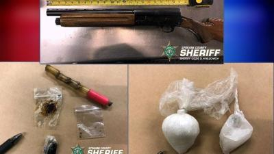 Traffic stop leads to search warrant, seizing of drugs & altered shotgun