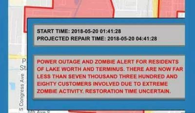 City looks for answers after zombie alert sent to residents