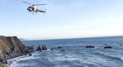 Cell phone found where SUV plunged off California cliff
