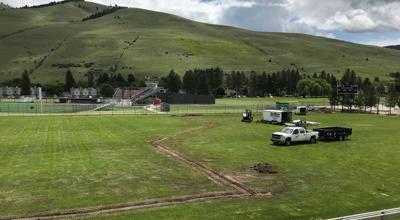 griz soccer field