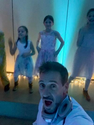 Offers to DJ local Daddy-Daughter Dance pour in after Help Me Hayley Request