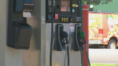 Spokane man catches runaway gas pump in action