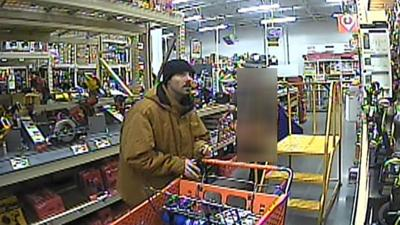 VIDEO: Moses Lake Police need help identifying shoplifter who swings ax at Home Depot employees