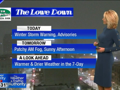 A look ahead to a (relatively) warm weekend!   Top Video
