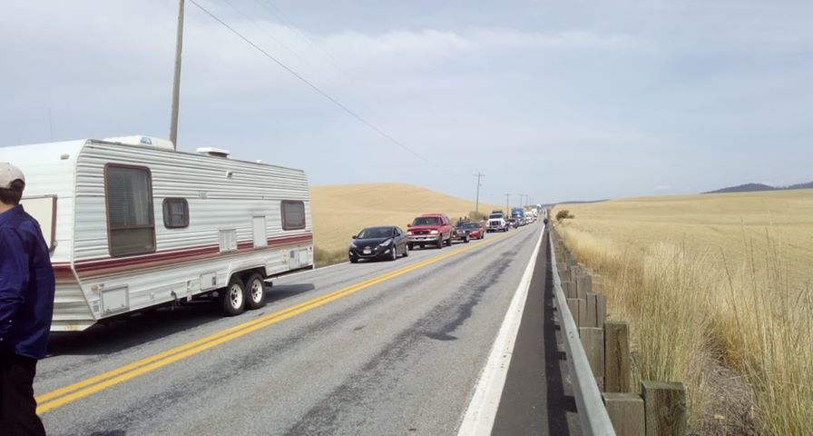 Serious crash on US 95 near Tensed, expect delays