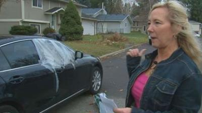 Spokane neighborhood dealing with car break ins