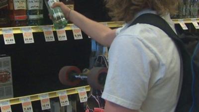 KHQ Crime Tracker:  On Patrol With The Liquor Control Board