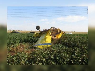 Small plane crashes during Texas gender reveal celebration