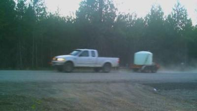 Detectives ask public for help finding stolen trailer, water tank
