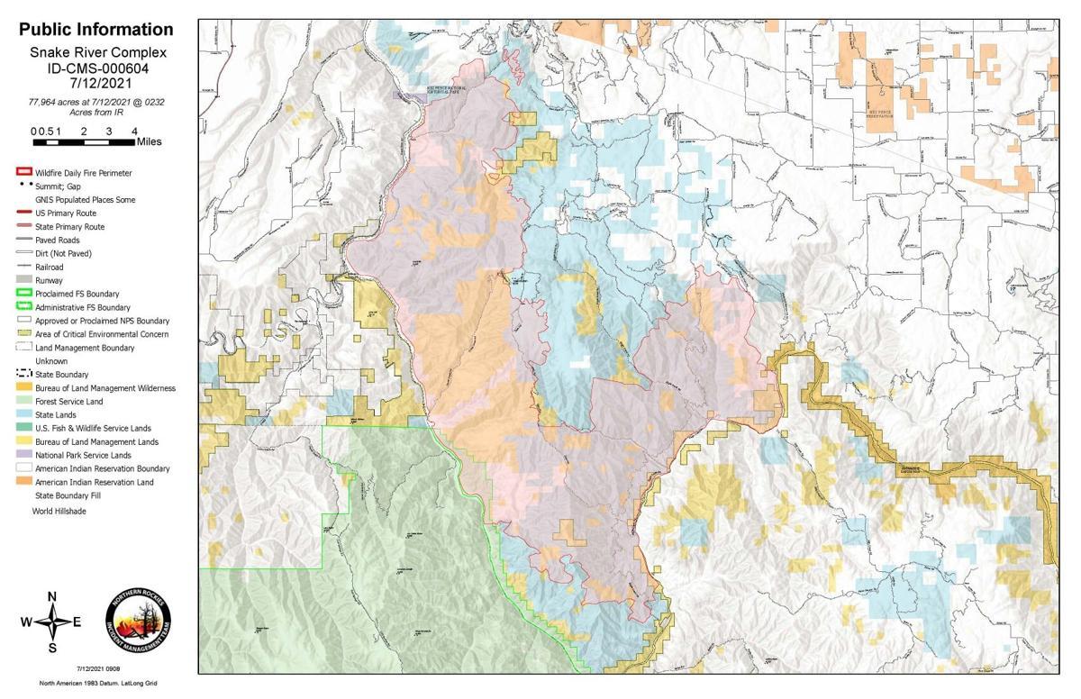 SNAKE RIVER MAP JULY 12
