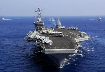 SALUTING THE BRAVE: USS Stennis Departing Bremerton For