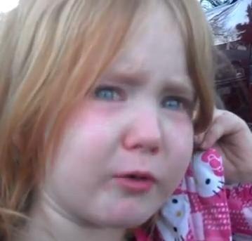 LITTLE GIRL: 'I'm Tired Of Bronco Bamma And Mitt Romney