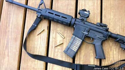 I-1639 rules regarding purchase of semi-automatic rifle in