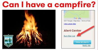Know before you go: Campfire restrictions in Washington State