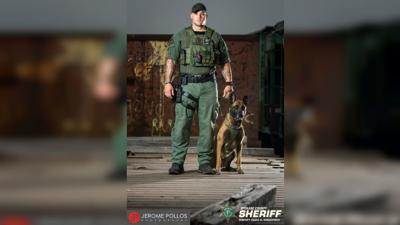 Burglary suspect captured by K9 Khan after lengthy search