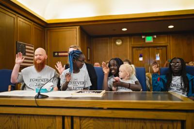 Three girls find their forever homes on National Adoption Day