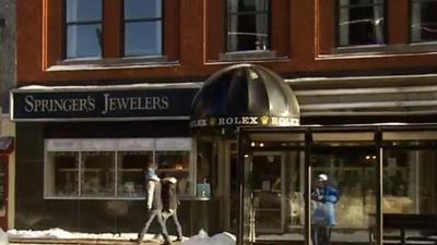 Jewelry store promotion promised to refund customers if it snowed 6 inches Christmas Day