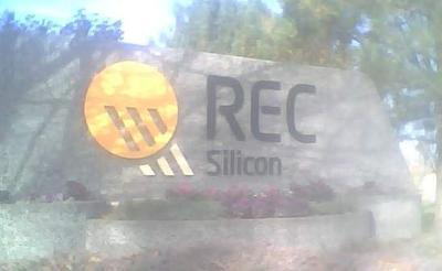 REC crews knock down silicon plant fire