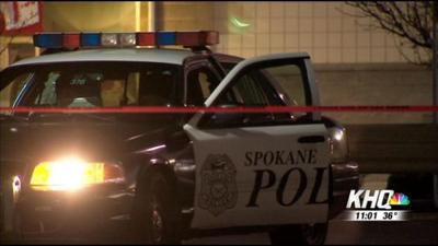 Police investigate shooting in Spokane parking lot