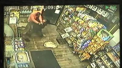 Brooklyn ambush robbery caught on camera
