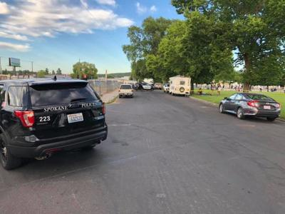 One person in stable condition after Hillyard shooting, search for suspect still ongoing