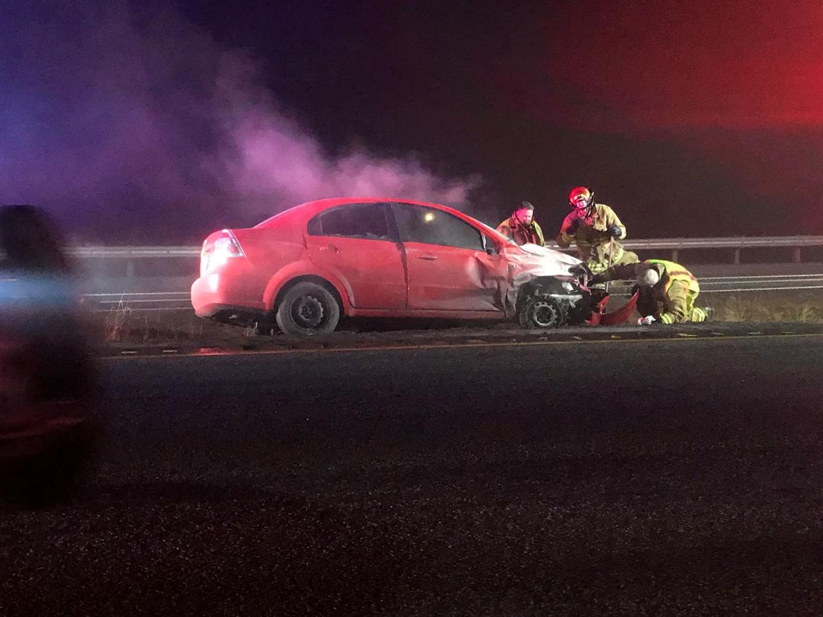 One person in custody after high-speed pursuit ends near Stateline