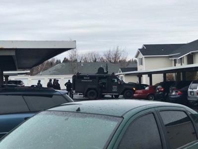 PHOTO: 53rd and Regal SWAT Stand Off