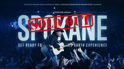 Garth Brooks to play SEVEN SOLD OUT shows in Spokane in November