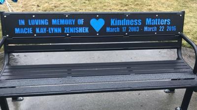 Kindness Matters: Buddy Bench honors memory of Spokane teen