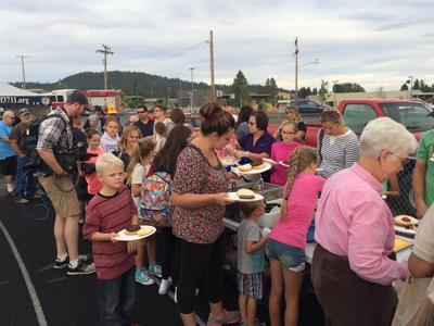 Community impacted by Yale Road Fire rally for one another