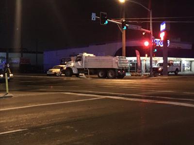 Sprague Freya Dump Truck Crash
