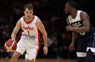 Australia Canada US Basketball