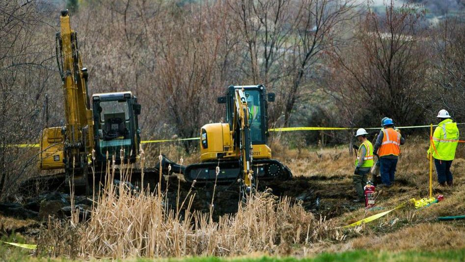 Pipeline break spills sel fuel in south central Idaho