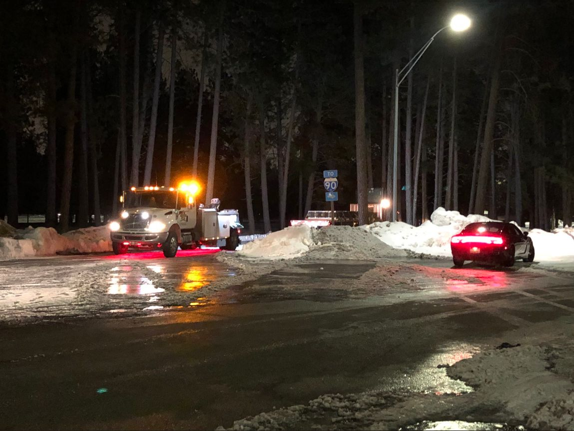 UPDATE: Fairchild Air Force Base releases statement after incident that closed I-90
