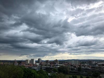 Thursday evening storm